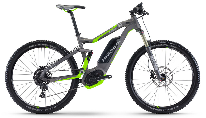 "HAIBIKE Xduro FullSeven 5.0 Elcykel MTB Heldämpad 27,5"" grå"
